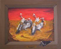 Ölmalerei, Surreal, Acrylmalerei, Malerei