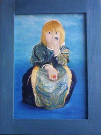 Figural, Ölmalerei, Malerei, Prinzessin