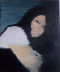 Frau, Menschen, Ölmalerei, Surreal