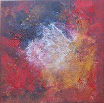 Malerei, Abstrakt, Haus