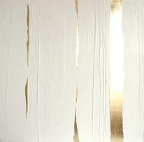 Glanz, Struktur, Weiß, Gold