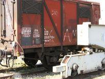 Hafenbahn, Fotografie, Güterwagen, Eisenbahn
