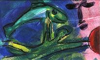 Holstein, Acrylmalerei, Malerei, Surreal