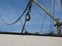 Haken, Frachtschiff, Fotografie, Ladegeschirr