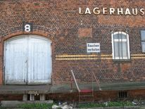 Schuppen, Hafen, Backstein, Hamburg