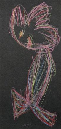 Surreal, Zeichnung, Zeichnungen, Tochter
