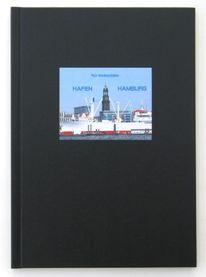 Rasmussen, Zeichnung, Hafen, Hamburg