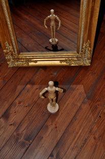 Spiegel, Wahrheit, Menschen, Holz