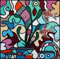 Relief, Acrylmalerei, Kunsthandwerk