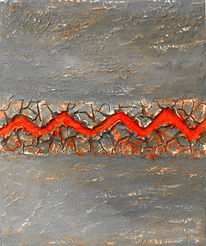 Acrylmalerei, Relief, Acrylrelief, Kunsthandwerk