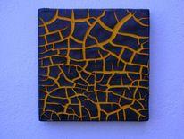 Bruchstrukturpaste, Bruch, Relief, Kunsthandwerk