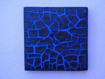 Relief, Bruchstrukturpaste, Bruch, Kunsthandwerk