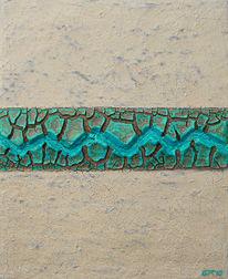 Acrylrelief, Holz, Relief, Acrylmalerei