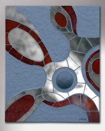 Spiegel, Relief, Kunsthandwerk