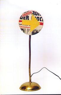 Ampel, Lichtobjekt, Objekt, Plastik