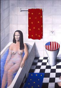 Mona lisa, Russland, Europa, Bad