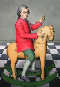 Schaukelpferd, Dirigent, Österreich, Komponist