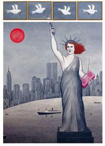 Waffe, Politik, Taube, New york