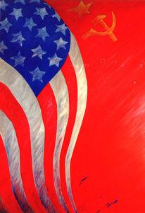 Flagge, Politik, Russland, Fahne