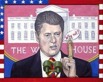 Usa, Kondom, Portrait, Politiker