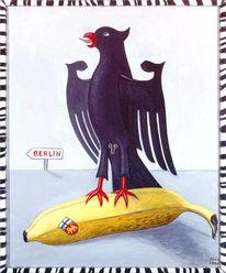Berlin, Deutschland, Bundesadler, Wappen