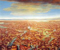 Rom, Italien, Stadtlandschaft, Malerei