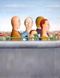 Deutschland, Mauer, Berlin, Malerei