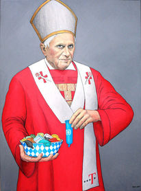 Papst, Vatikan, Kirche, Aversion