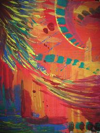 Psy, Farben, Blitz, Abstrakt