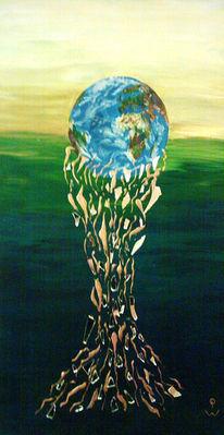 Welt, Erde, Blau, Grün