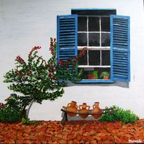 Spanien, Haus, Wärme, Fenster