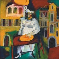 Ölmalerei, Gemälde, Malerei, Figural