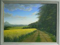 Feinmalerei, Naturalismus, Romantik, Landschaft
