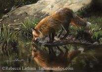 Gemälde, Aquarellmalerei, Malerei, Natur