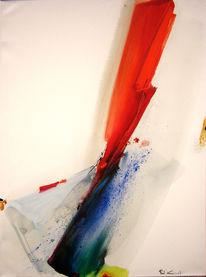 Dinamish, Farben, Abstrakt, Gemälde