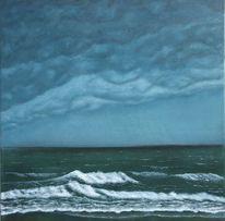 Wolken, Sturm, Regen, Meer