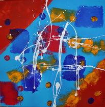 Acrylmalerei, Bunt, Zirkus, Malerei