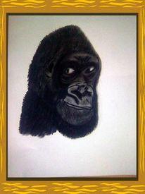 Malerei, Gorilla