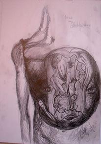 Zeichnungen, Surreal, Herz