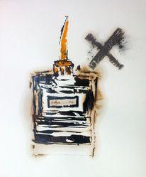 Schmiere, Grafit, Werkstatt, Mischtechnik