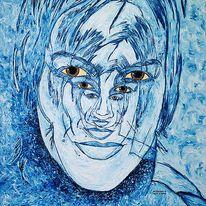 Multidimensionalität, Portrait, Geist, Psyche