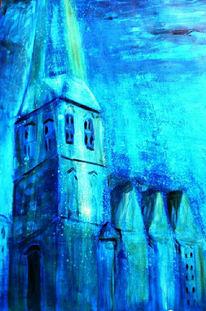 Acrylmalerei, Malerei, Kirche,