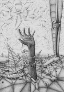 Menschen, Technik, Evolution, Hand