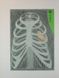 Collage, Hänsel und gretel, Recycling, Zeichnungen