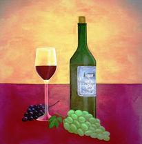 Wein, Stillleben, Trauben, Weintrauben