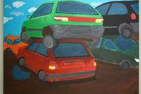 Auto, Malerei