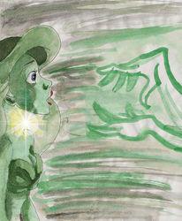Disney, Arielle, Meerjungfrau, Malerei