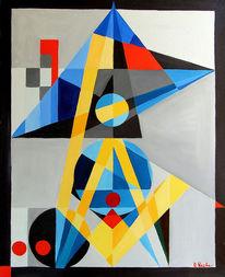 Kubismus, Ölmalerei, Pensacola, Frei