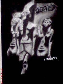 Pharao, Zeichnung, Ägypten, Zeichnungen