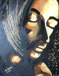 Lack, Menschen, Mann, Ölmalerei
